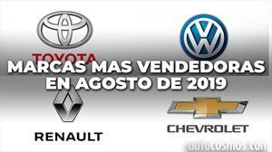 Top 10: las marcas más vendedoras de Argentina en agosto de 2019