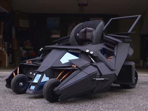 Carriola Batimóvil Tumbler, el vehículo ideal de los niños