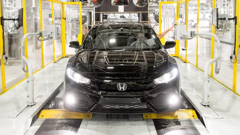 Honda traslada parte de su producción de Inglaterra a Japón