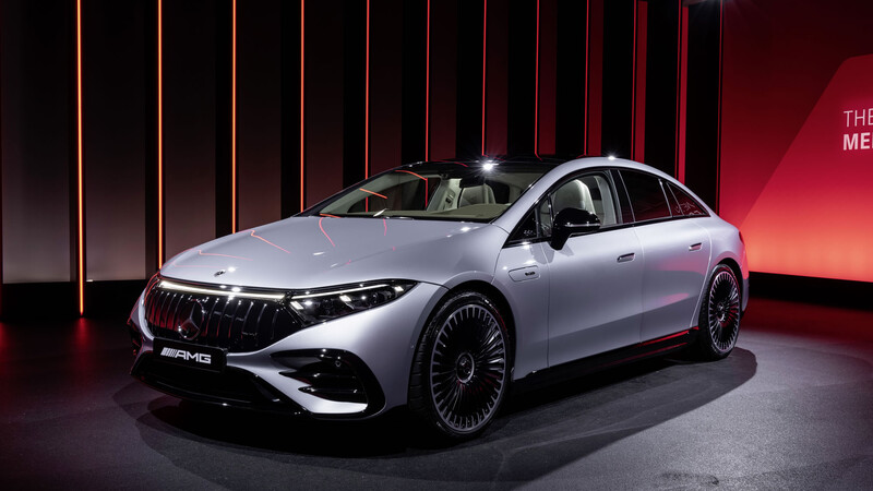Mercedes-AMG EQS 53, el primer eléctrico de AMG es un sedán con 761 hp