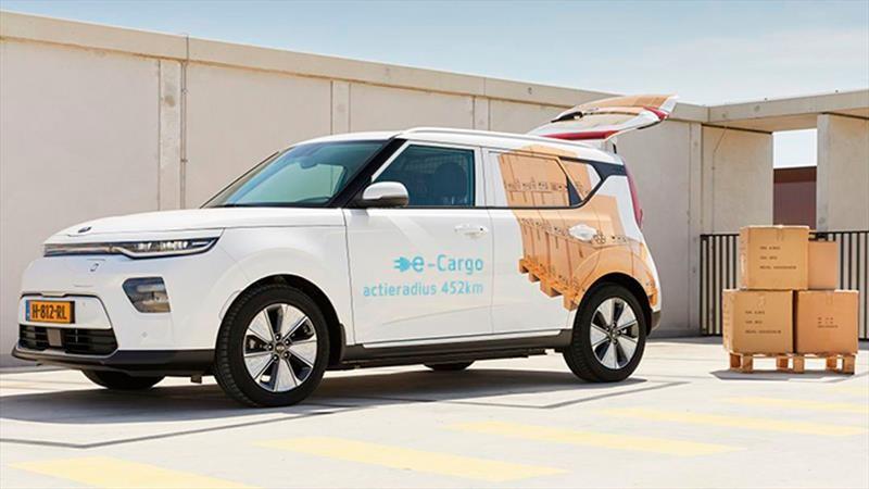 KIA e-Soul Cargo 2021, una panel van 100% eléctrica para Pymes