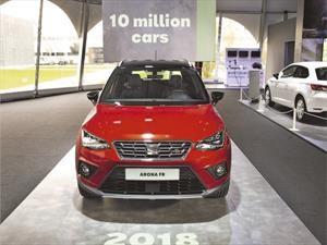 Un Seat Arona es la unidad 10 millones fabricada en Barcelona
