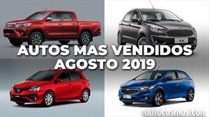 Los 10 autos más vendidos en Argentina en agosto de 2019