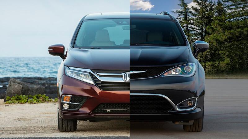 Honda Odyssey 2020 vs Chrysler Pacífica 2020, ¿qué minivan me conviene comprar?