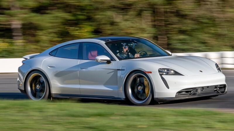 Porsche Taycan impone récord en el Raceway Road Atlanta
