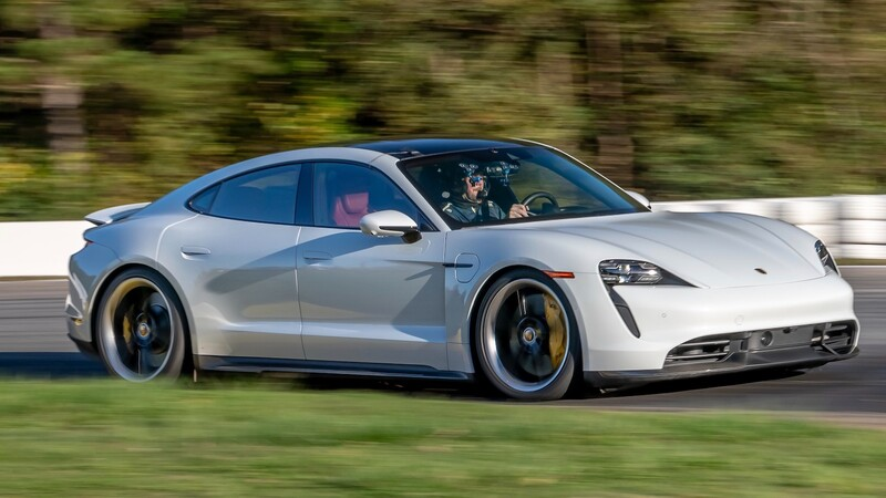 Porsche Taycan rompe récord en el autódromo de Road Atlanta