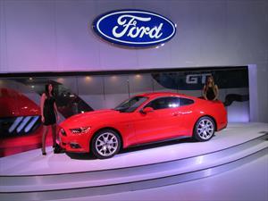 Ford Mustang GT Premium 50 años, un lujo del Salón de Bogotá