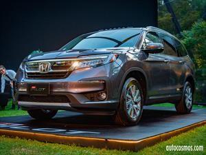 Honda Pilot 2019 en Chile, tecnología para disfrutar en familia