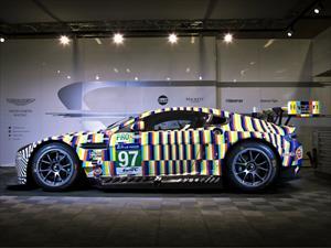Aston Martin Gulf Vantage GTE, arte sobre ruedas que competirá en las 24 Horas de Le Mans