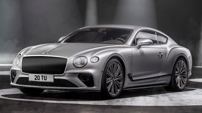 Bentley Continental GT Speed 2022: más poder y una dinámica de conducción superior