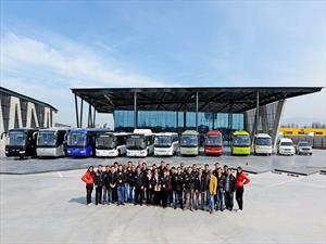 Buses Higer: Convención americana en Chile