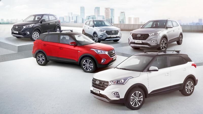 Cinco nuevas versiones de Hyundai Creta