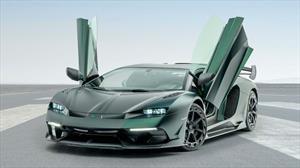 Mansory Cabrera, el Lamborghini Aventador SVJ más salvaje