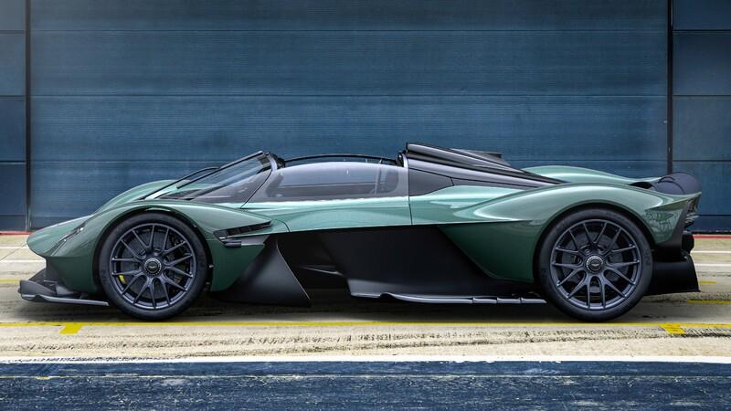 Aston Martin Valkyrie Spider te acerca a la experiencia de manejar un F1