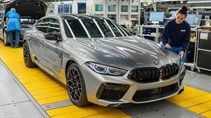 BMW inicia la producción del M8 Gran Coupé en Alemania