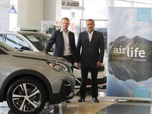 Peugeot cierra alianza con Airlife para la purificación de los interiores de vehículos en servicio