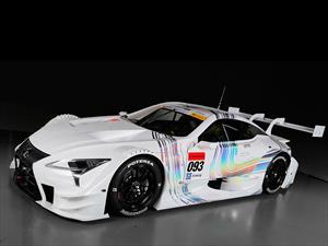 Fuerza nipona: Lexus LC 500 Super GT500