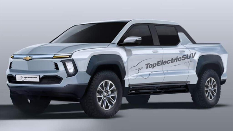 Este Chevrolet BET anticipa una futura Colorado eléctrica