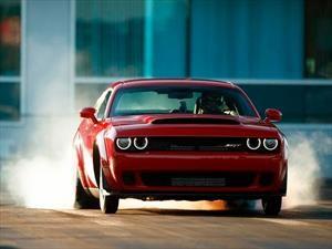 Dodge Challenger SRT Demon ¿cuál es su velocidad máxima?