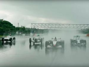 Video: Monoplazas históricos de Mercedes-Benz regresan a la pista