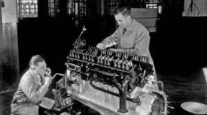 El motor Cadillac V16, el primero con tantos cilindros