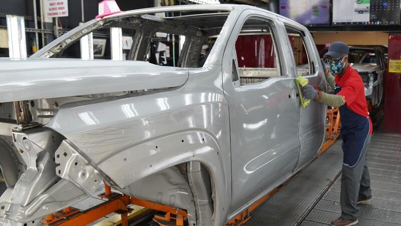 Nissan inicia la producción de la nueva Frontier que se vende en Estados Unidos