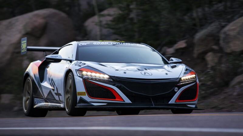 Acura NSX romper récord en Pikes Peak 2020
