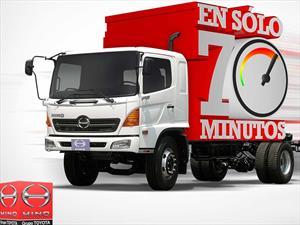Su vehículo listo en 70 minutos, servicio Express de HINO
