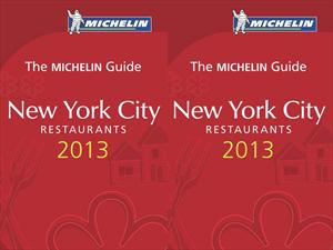 Michelin presenta su nueva guía New York City 2013