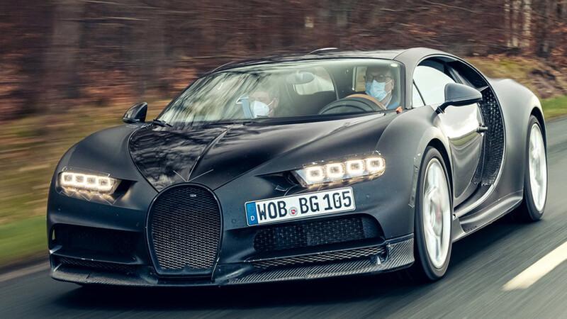 Bugatti Chiron Prototype 4-005, es momento de ir a casa y disfrutar del retiro.