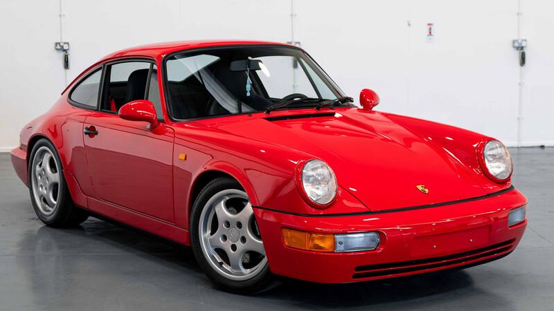 Se subasta un Porsche de menos de ¡200 kilómetros! de vida