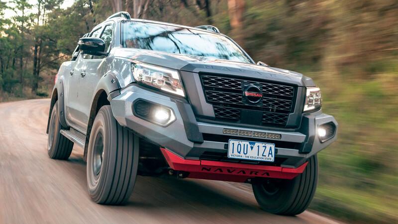 Nissan Fronier PRO-4X Warrior 2022 se mete en territorio de Ranger Raptor