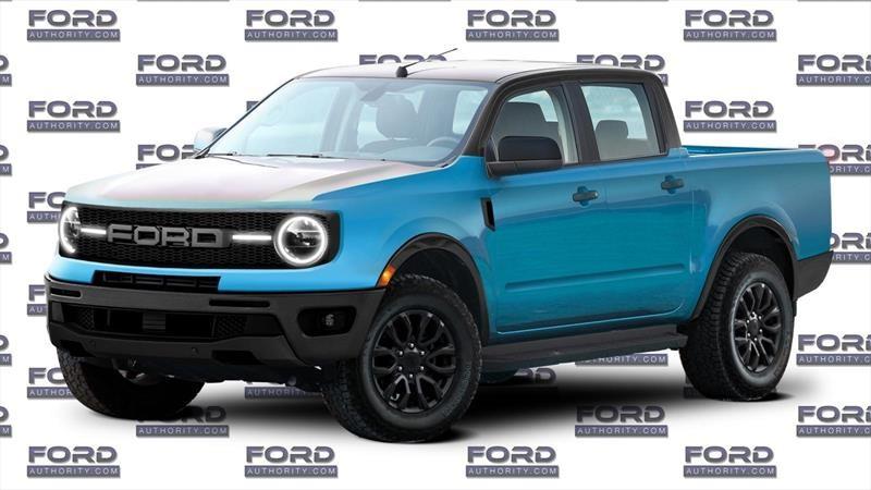El diseño de la nueva Ford Courier estaría inspirado en la nueva Bronco