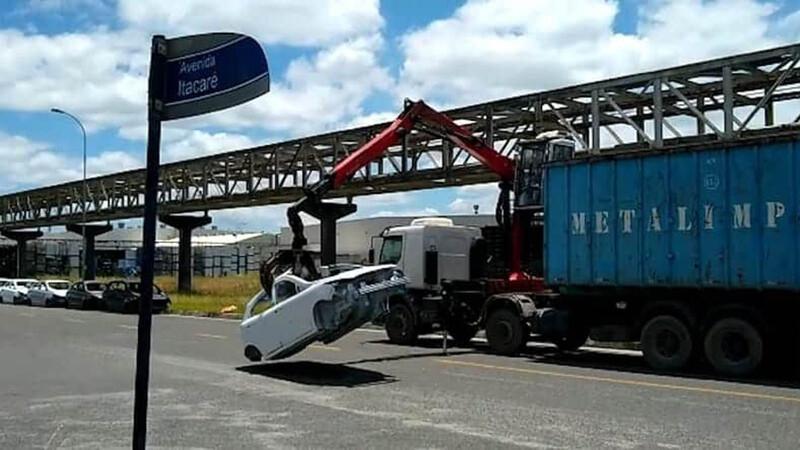 No alcanzaron a ver la luz: Ford destruye carrocerías incompletas del Ka y EcoSport