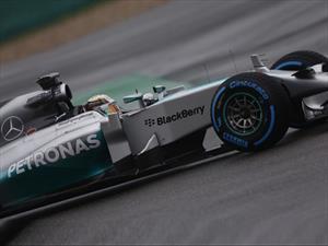F1: Hamilton gana por tercera vez en el año, Mercedes GP imparable