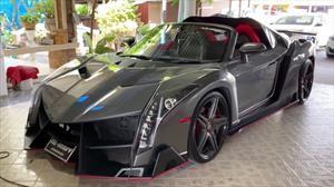 Estas réplicas de Ferrari y Lamborghini están montadas sobre modelos de Honda y Toyota