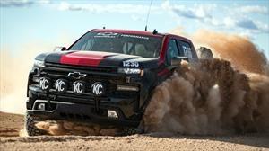 Chevrolet Silverado se prueba en carreras off-road