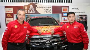 Great Wall Motors en el Rally Dakar 2012