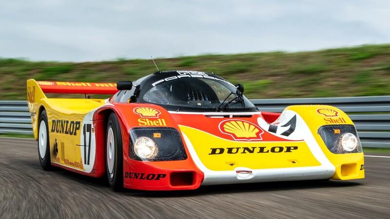 Porsche deja como nuevo un emblemático 962 de carreras