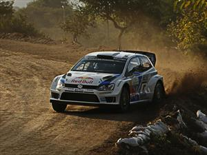 WRC: Ogier y su Volkswagen Polo R dominaron el primer especial