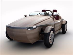 Toyota Setsuna, completamente fabricado en madera