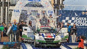 Skoda Fabia Super 2000 dominaron los Sata Rally Azores