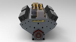 Un motor eléctrico con forma de V8 podria adaptarse en modelos clásicos