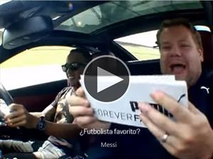Video: el futbolista favorito de Lewis Hamilton es Messi