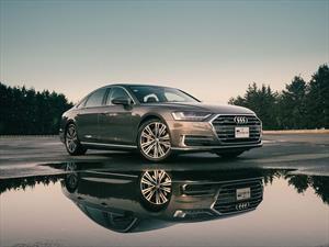 Audi A8 2019 híbrido, prueba de manejo desde México