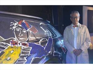 Audi Q7 2016 se convierte en lienzo