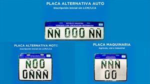 Nuevas placas para vehículos con restricciones