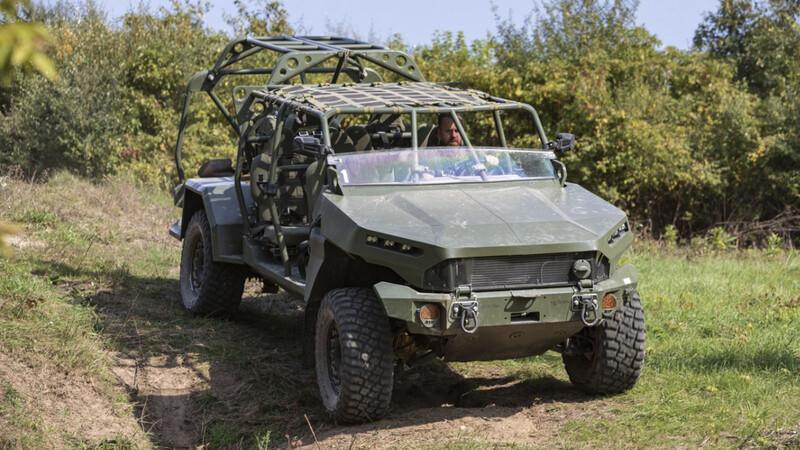 GM Defense ISV es el primer vehículo militar de General Motors