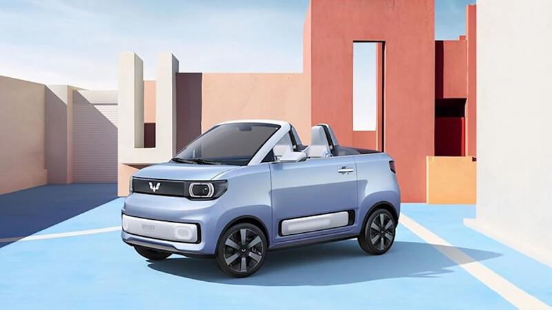 Wuling Hongguang MINI EV Cabrio, el eléctrico más vendido ahora es descapotable