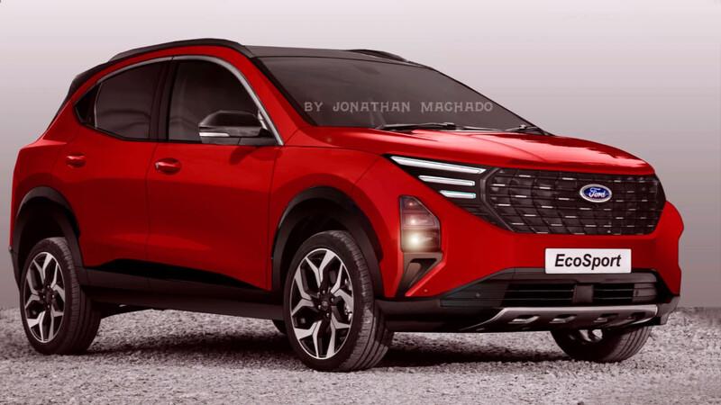 Nueva Ford Ecosport: ¿Se verá así?